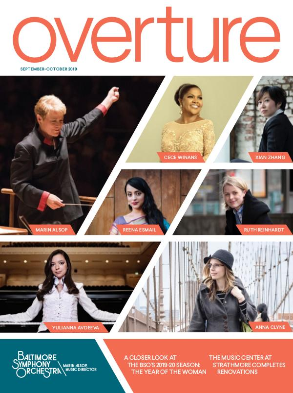 Overture Magazine 2019-20 BSO_Overture_Sept_Oct