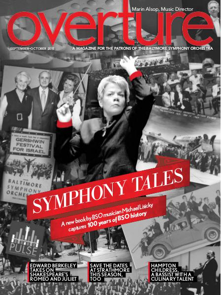 Overture Magazine - 2015-2016 Season September-October 2015