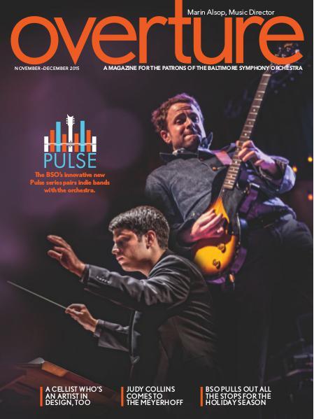 Overture Magazine - 2015-2016 Season November-December 2015