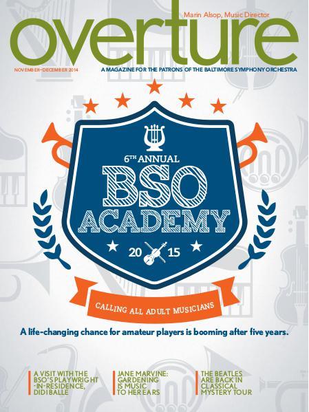 Overture Magazine - 2014-2015 November-December 2014