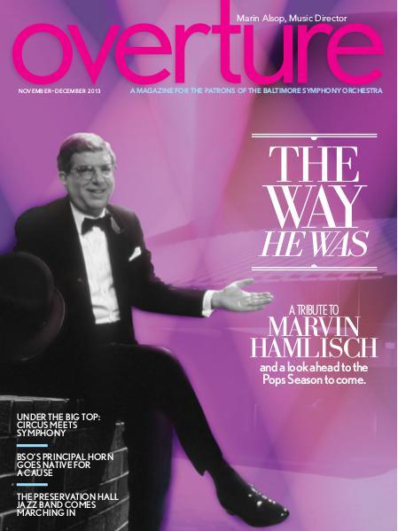 Overture Magazine 2013-2014 November-December 2013