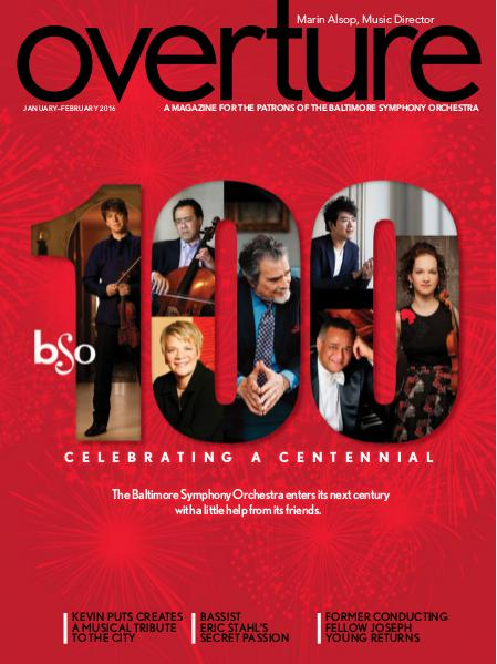 Overture Magazine - 2015-2016 Season January-February 2016