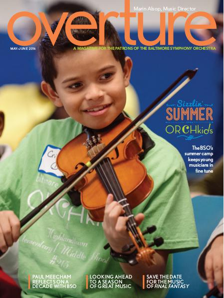 Overture Magazine - 2015-2016 Season May-June 2016