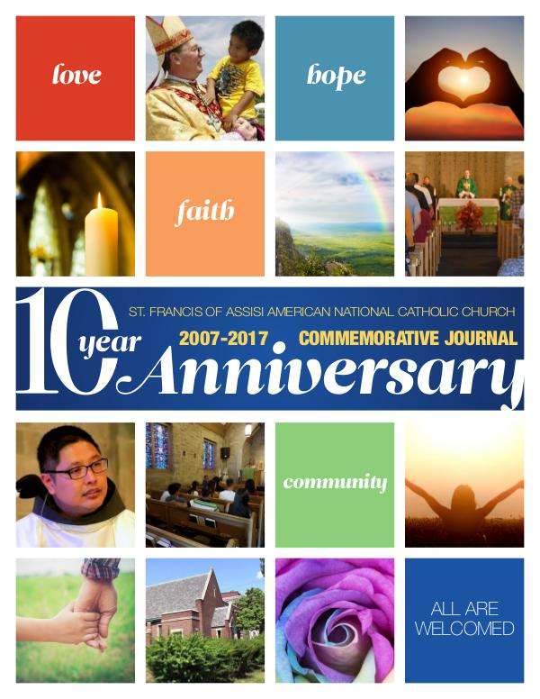 St. Francis 10 Year Anniversary October 2017