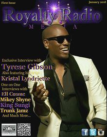 Royalty Radio Media Magazine 1st Issue Tyrese Gibson