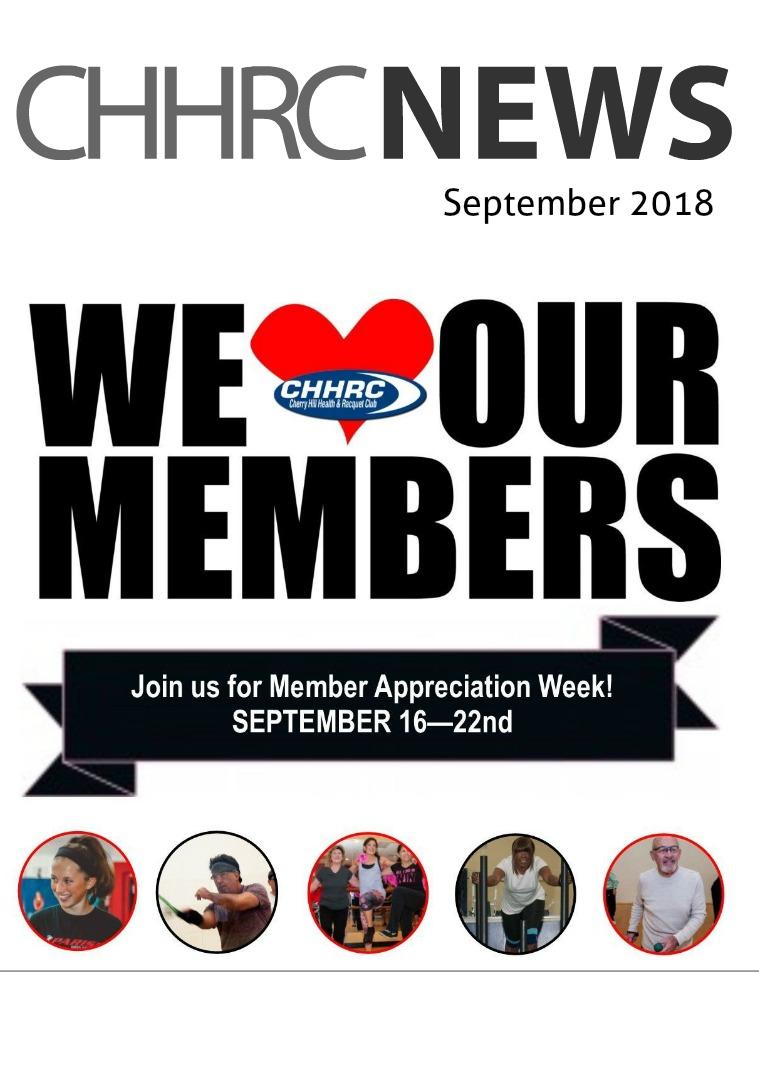 September 2018 CHHRC Newsletter September 2018