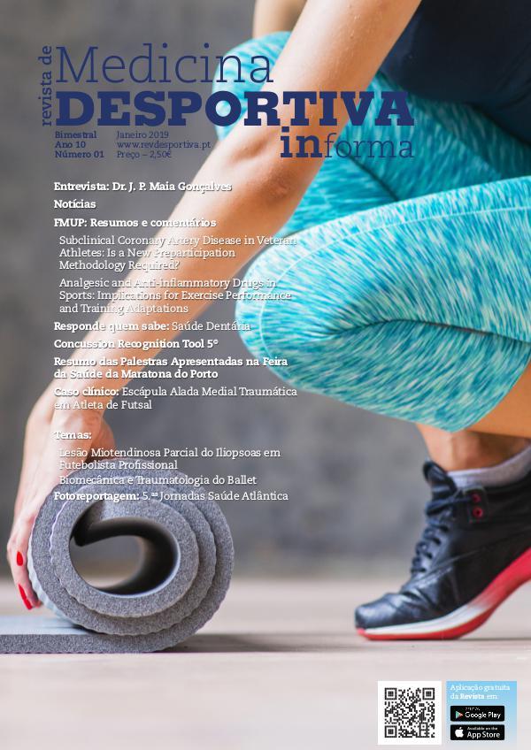 Revista de Medicina Desportiva Informa Janeiro 2019