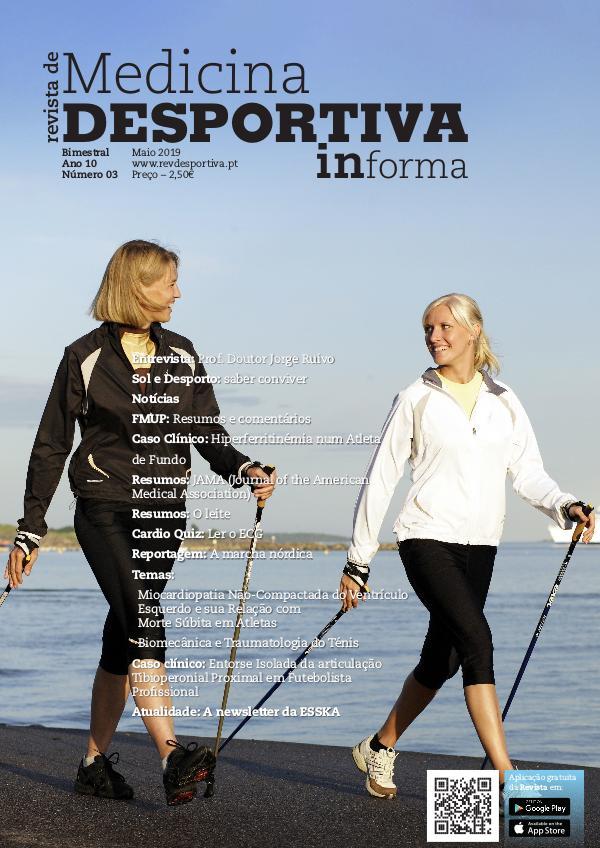 Revista de Medicina Desportiva Informa Maio 2019
