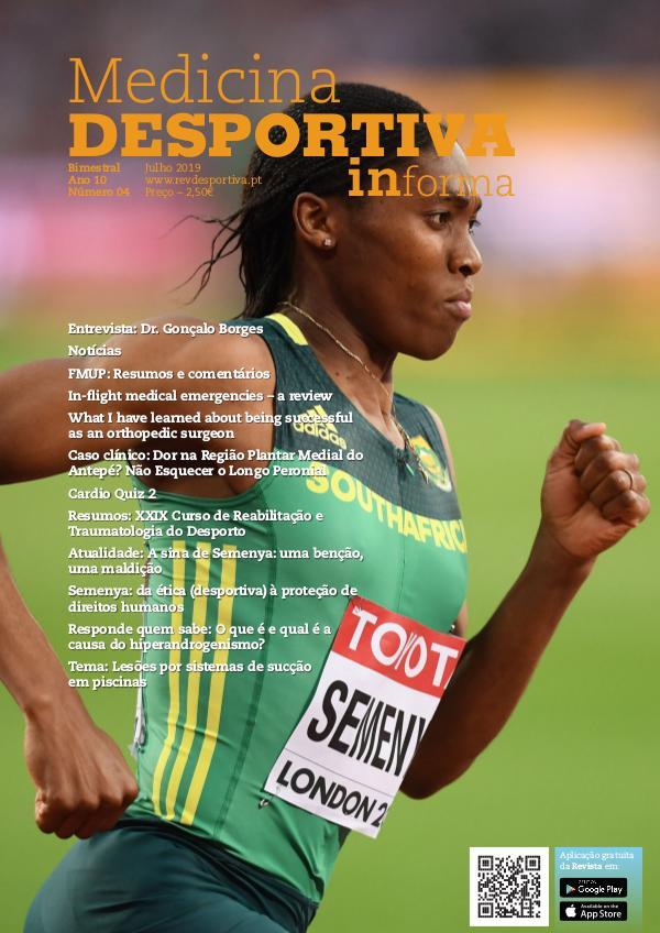 Revista de Medicina Desportiva Informa Julho 2019