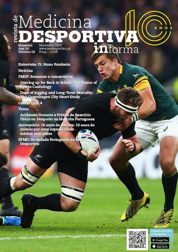 Revista de Medicina Desportiva Informa Novembro 2019