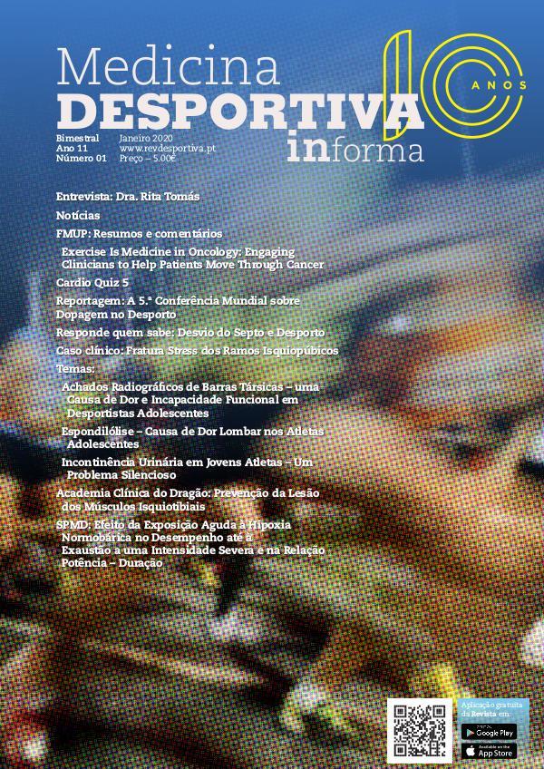 Revista de Medicina Desportiva Informa Janeiro 2020