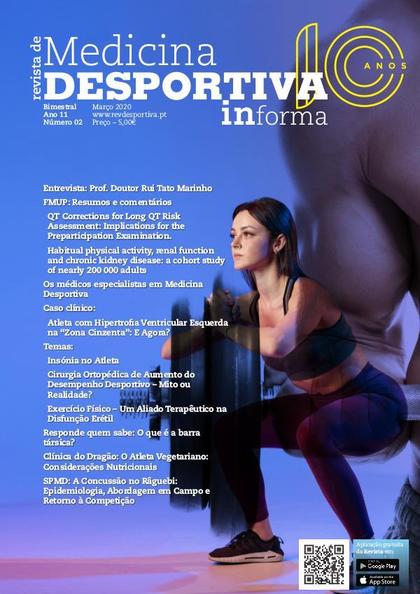 Revista de Medicina Desportiva Informa Março 2020