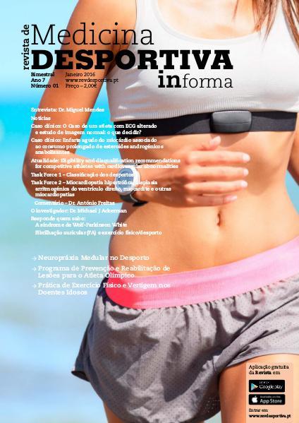 Revista de Medicina Desportiva Informa Janeiro 2016