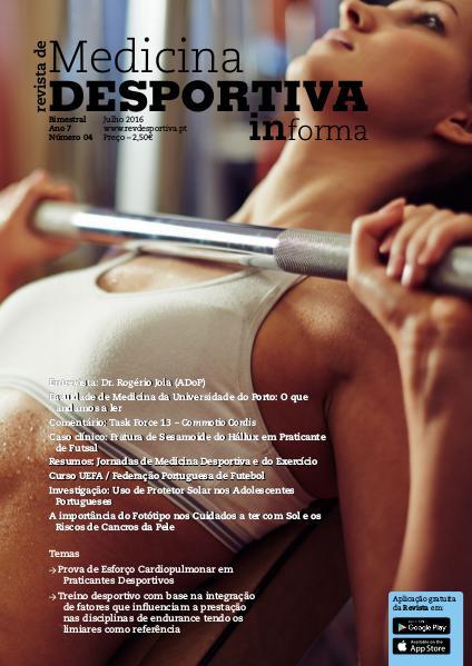 Revista de Medicina Desportiva Informa Julho 2016