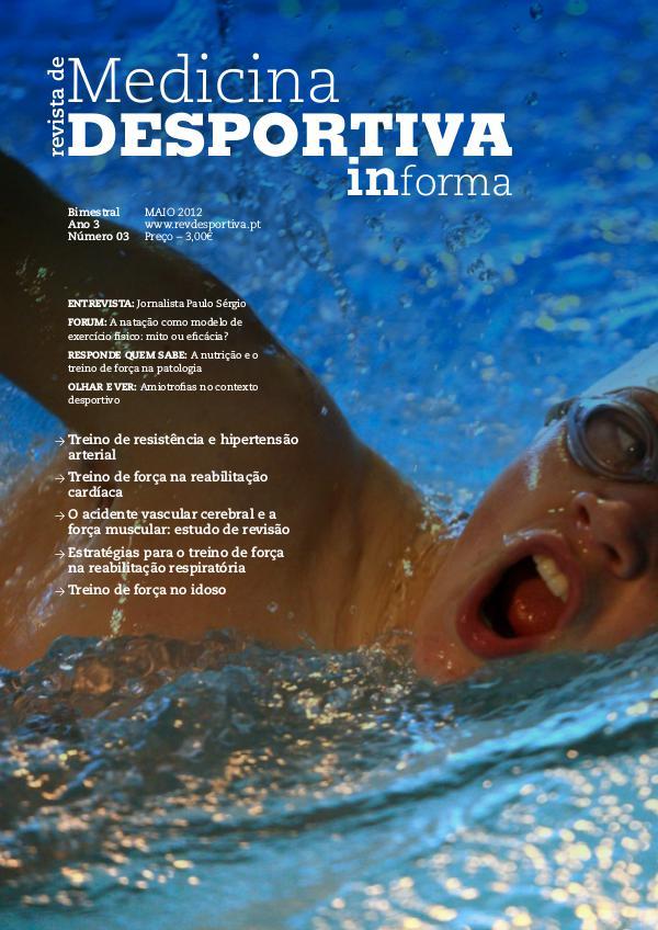 Revista de Medicina Desportiva Informa Maio 2012