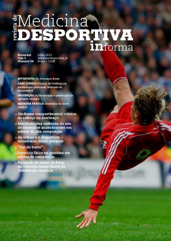 Revista de Medicina Desportiva Informa Julho 2012