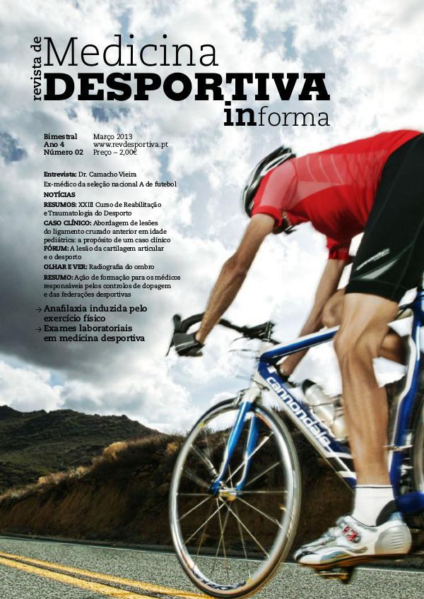 Revista de Medicina Desportiva Informa Março 2013