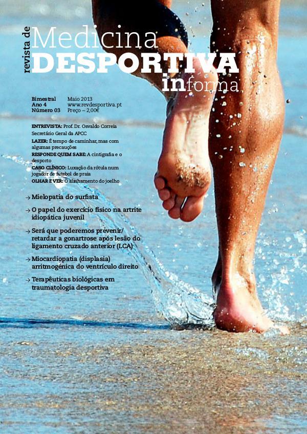 Revista de Medicina Desportiva Informa Maio 2013