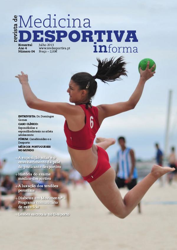 Revista de Medicina Desportiva Informa Julho 2013