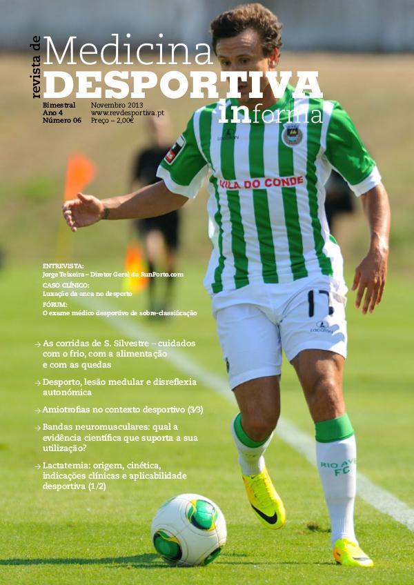 Revista de Medicina Desportiva Informa Novembro 2013