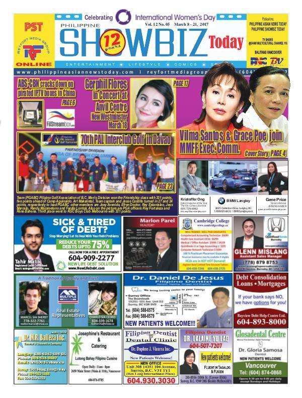 Philippine Showbiz Today Vol 12 No 5