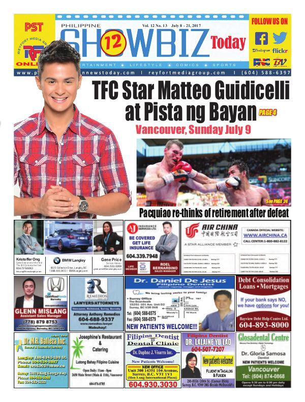 Philippine Showbiz Today Vol 12 No 13