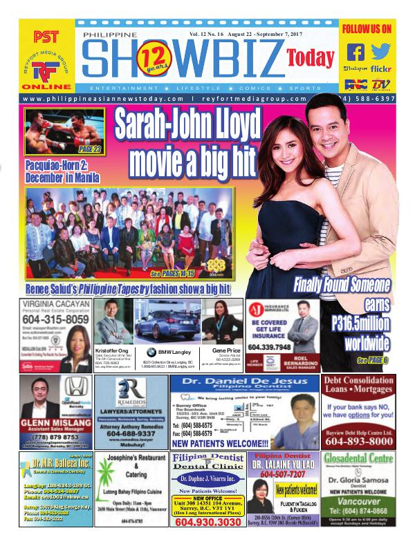 Philippine Showbiz Today Vol 12 No 16