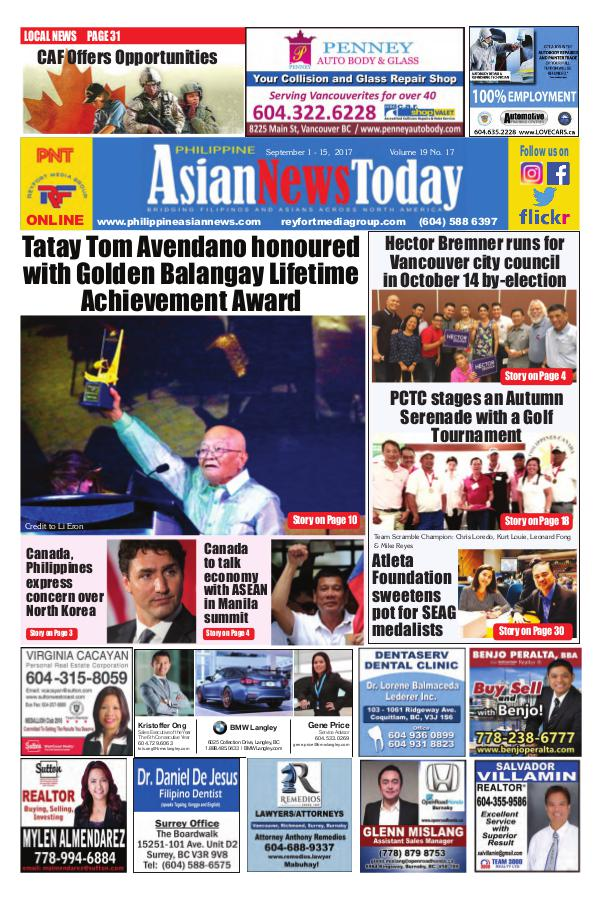 Philippine Asian News Today Vol 19 No 17