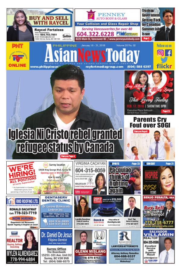 Philippine Asian News Today Vol 20 No 02