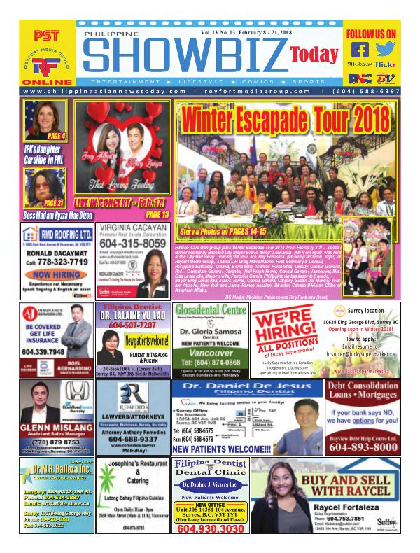 Philippine Showbiz Today Vol 13 No 3
