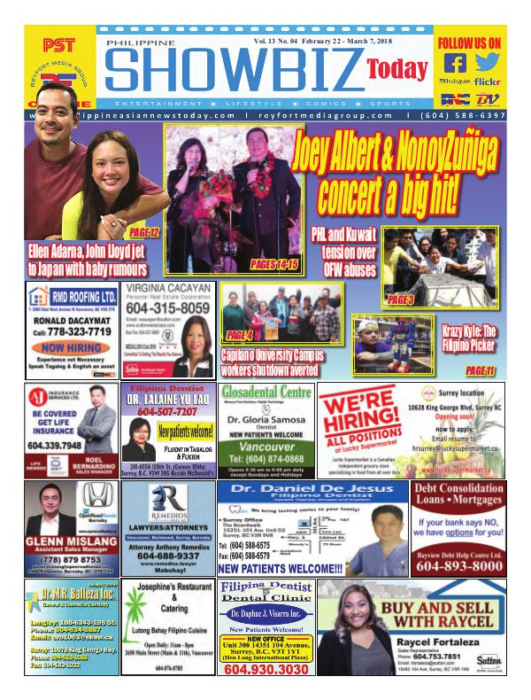 Philippine Showbiz Today Vol 13 No 4
