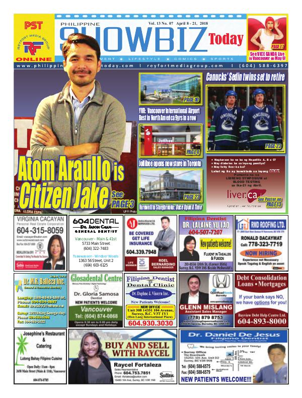 Philippine Showbiz Today Vol 13 No 7
