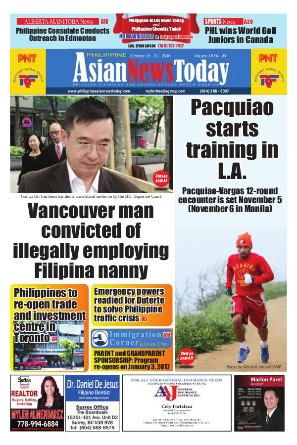 Philippine Asian News Today Vol 18 No 20