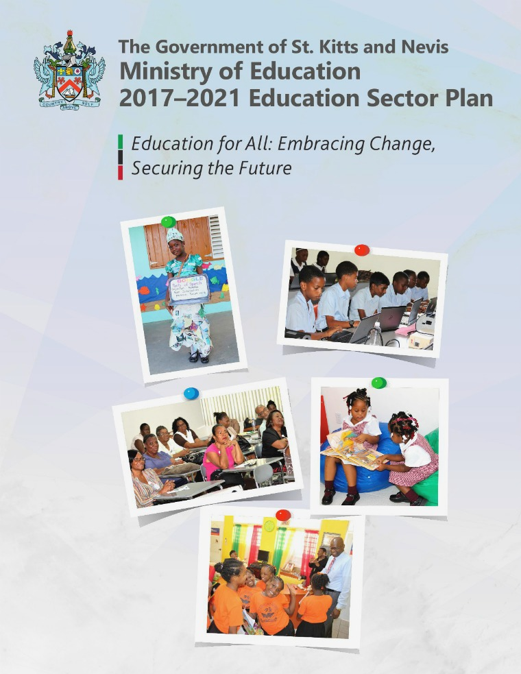 Education Sector Plan: Education for All:  Embracing Change, Securing Finale