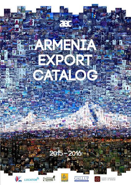 Armenia Export Catalog 2015-2016
