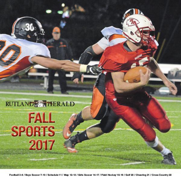 Rutland Herald Sports Guide Fall 2017