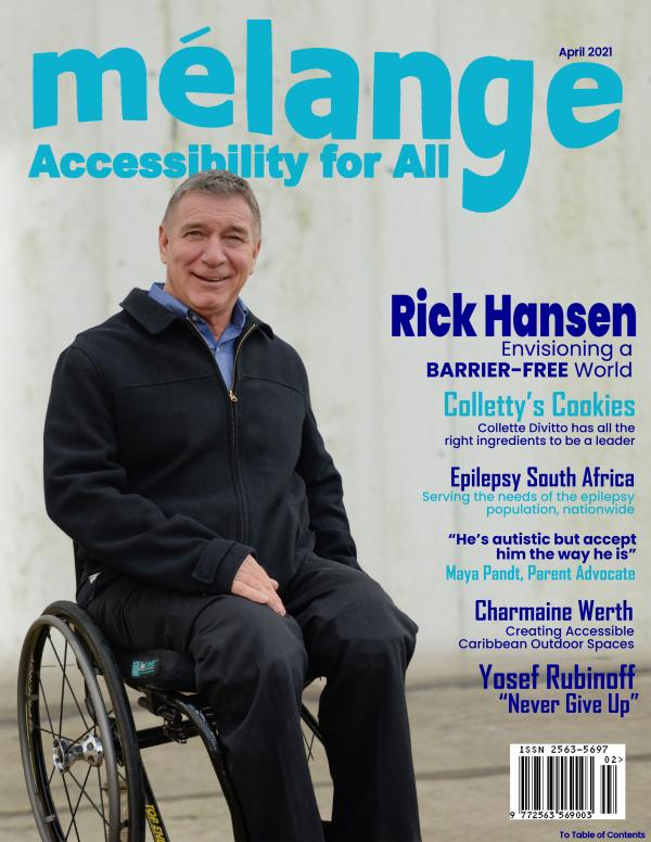 Mélange Accessibility for All Magazine April 2021