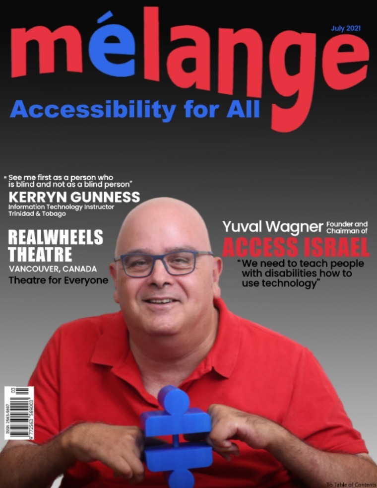 Mélange Accessibility for All Magazine July 2021