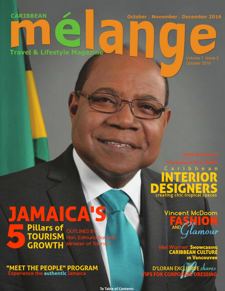 Mélange Travel & Lifestyle Magazine October 2016