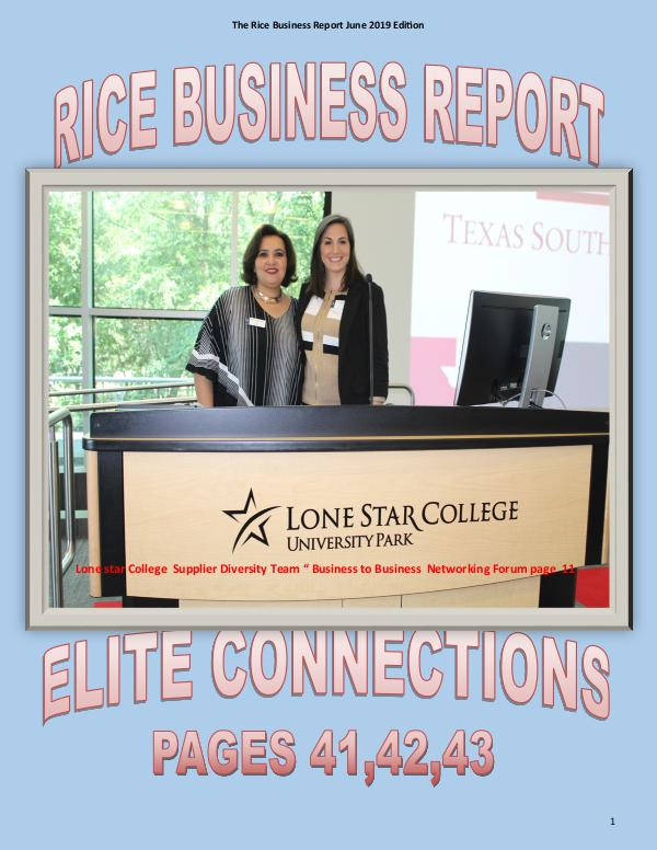 Rice Business Report June 2019 xxzxzx Rice Busines Report June 2019 Edition3xxxxxx