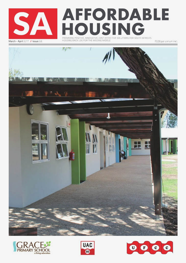 SA Affordable Housing March / April 2017 // Issue: 63