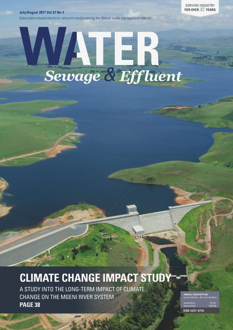 Water, Sewage & Effluent July-August 2017
