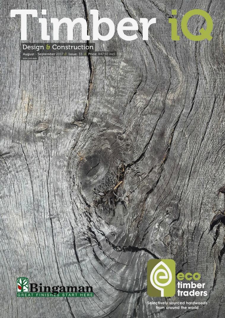 Timber iQ August - September 2017 // Issue: 33