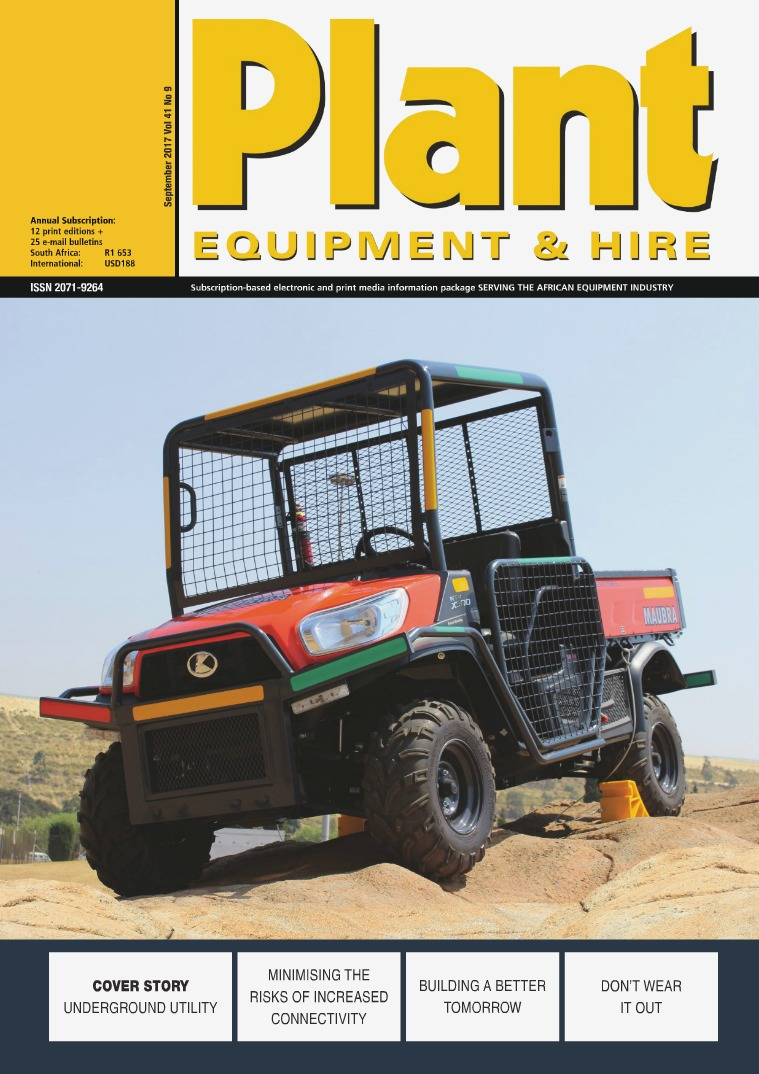Plant Equipment and Hire September 2017