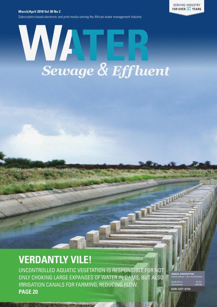 Water, Sewage & Effluent March-April 2018