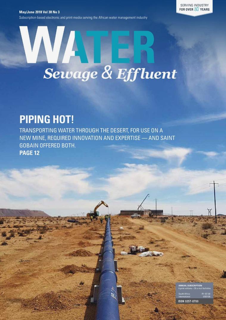 Water, Sewage & Effluent May-June 2018