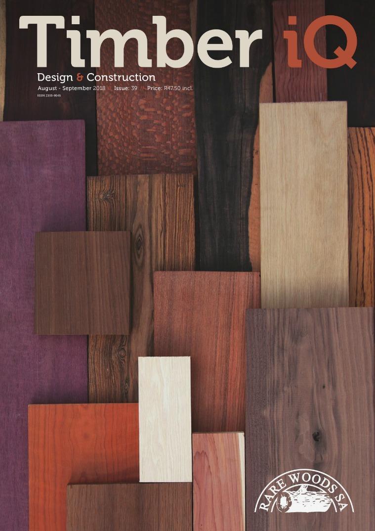 Timber iQ August- September 2018 // Issue: 39