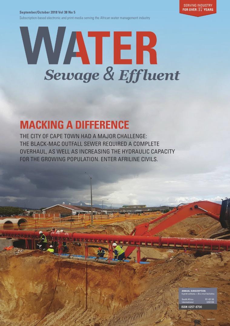 Water, Sewage & Effluent September October 2018