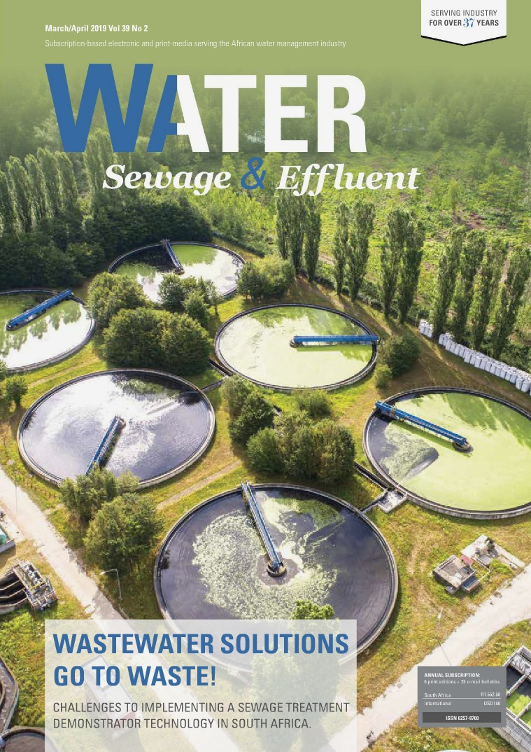 Water, Sewage & Effluent March April 2019