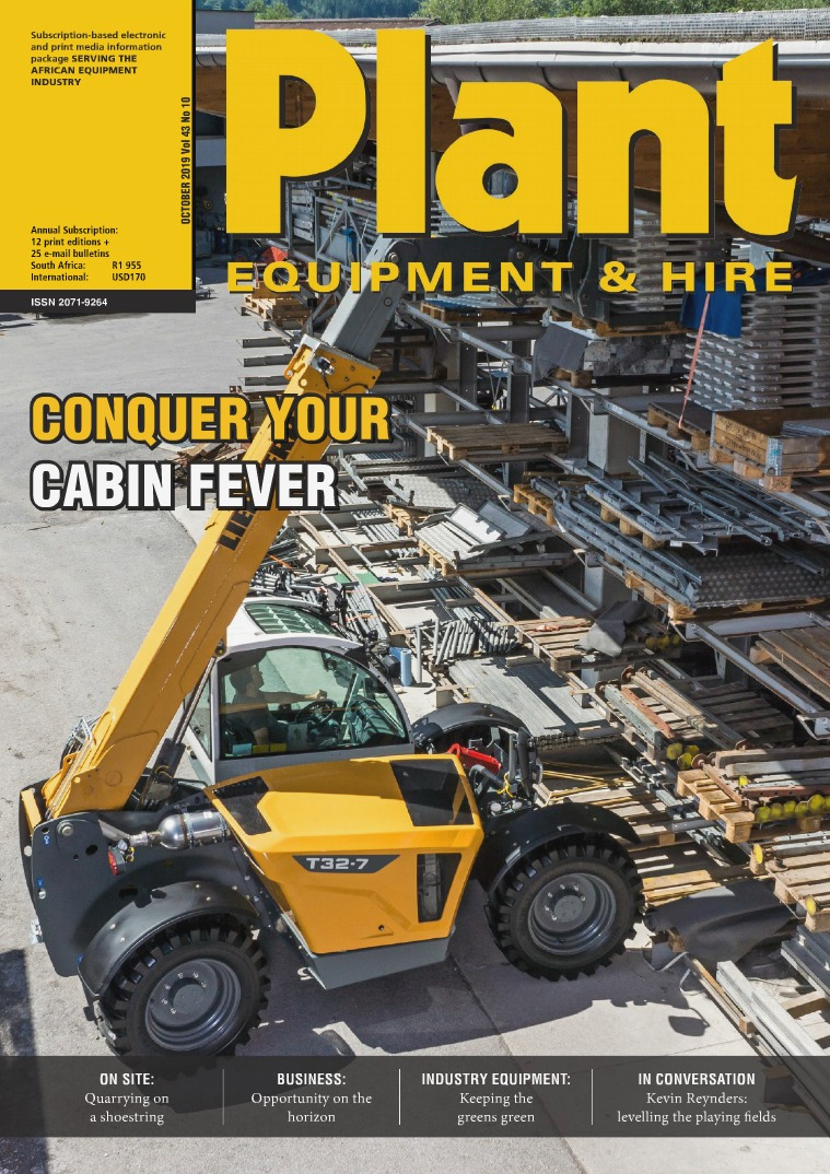 Plant Equipment and Hire October 2019